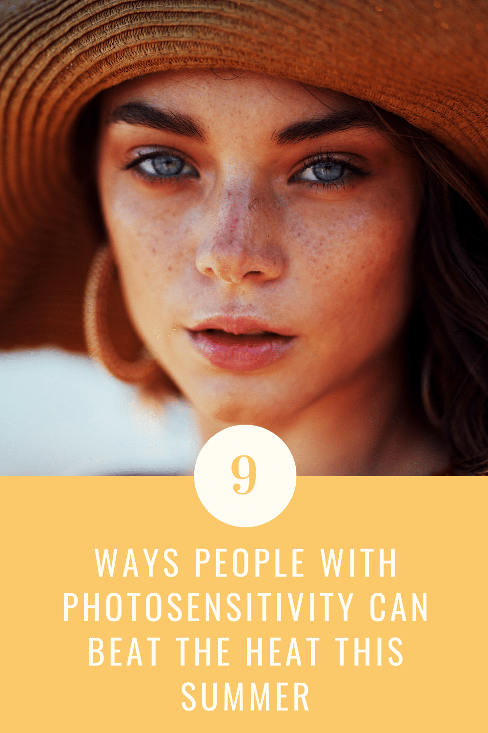 Photosensitivity tips for coping with heat and sun allergy.